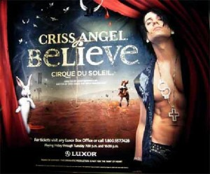 Criss Angel, Criss Angel Las Vegas